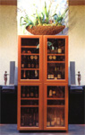 wine cellars CaveDuke: Living ambiance with SATUS design wine cabinets