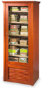 Cigars cabinet for +/- 80 boxes climatised with electronical system - humidity and temperature