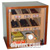 Counter humidor cigars cabinet for +/- 150 cigars with option electronic humidification system